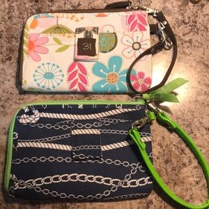 Thirty-one wristlets. Cute for summer.
